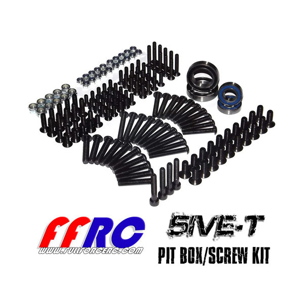 LOSI 5IVE-T PIT BOX/SCREW KIT ( L5T013)