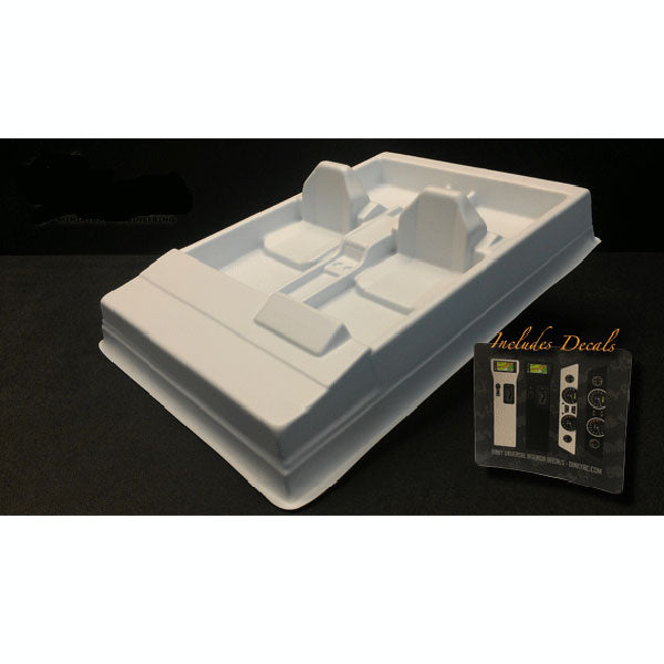 Dinky RC Universal Interior Kit (White)
