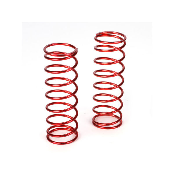 Losi Front Shock Spring Set (Red - 12.9lb) (2) 5IVE-T