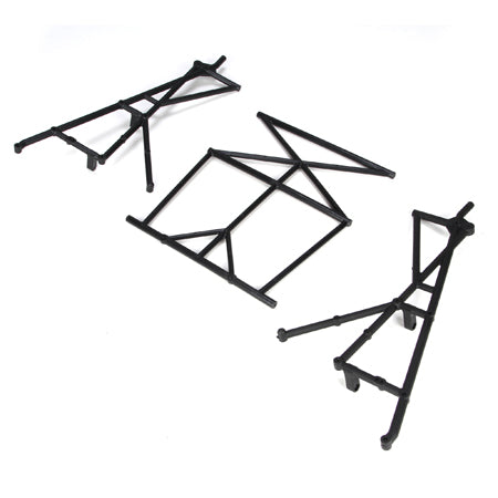 Losi Rear Top & Side Roll Cage Set 5IVE-T