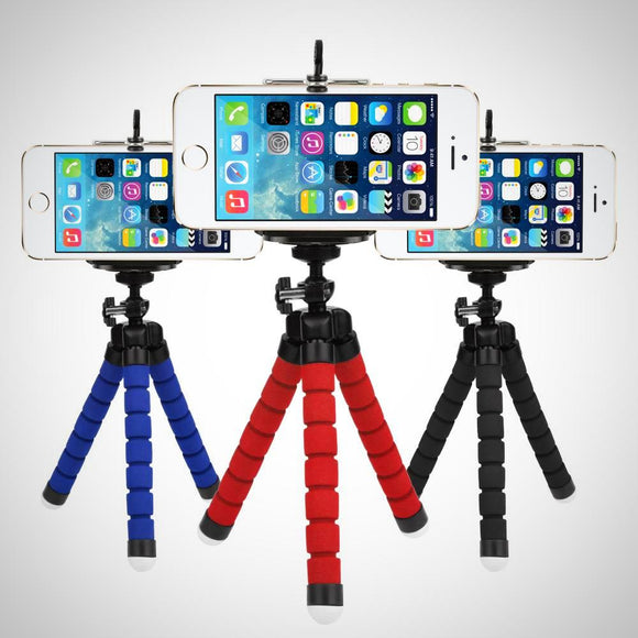 Mini Flexible Octopus Tripod for all Smartphones & Action Cams