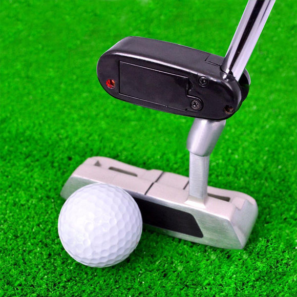 Mini Black Golf Putter Laser Pointer for Golf Training, Aim Line Corrector