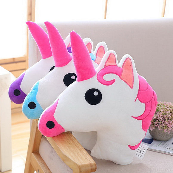 UNICORN Pillow & Doll Toy, 3 Variants