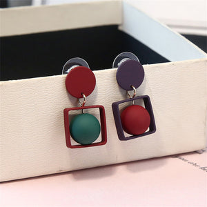 Doorbell Mixed Ball Drop Earrings - Zamavi.com