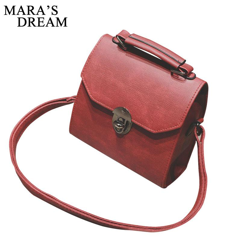 PU Leather Women Handbag Vintage Women Messenger Bag Fashion Lock Female Shoulder Bag Flap Women Bag Sac A Main
