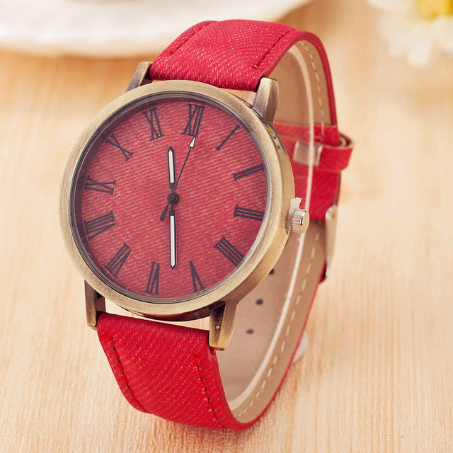 Hot Sale PU Leather Quartz Watch Women Dress Watches Men Casual Watch Rome Number Unisex Clock Relogio Masculino Drop-Shipping - Zamavi.com