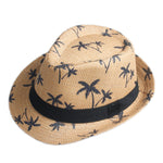 Men Women Summer Sun hat Beach fashion Cap Fedora Trilby Gangster Cap Beach Sun Straw Panama Hat Sunhat IN Stock!!! - Zamavi.com