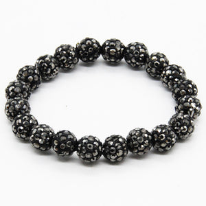 Fashion Itenice Fashion Jewelry Handmade Crystal Shamballa Bangles Strand Shambala Charm Stone Chain Beads Bracelets For Women - Zamavi.com