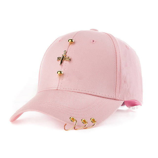 Women's Baseball With Rings Cap - Zamavi.com