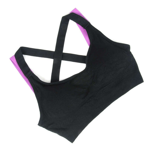 Fitness Yoga Push Up Sports Bra for Her - Zamavi.com