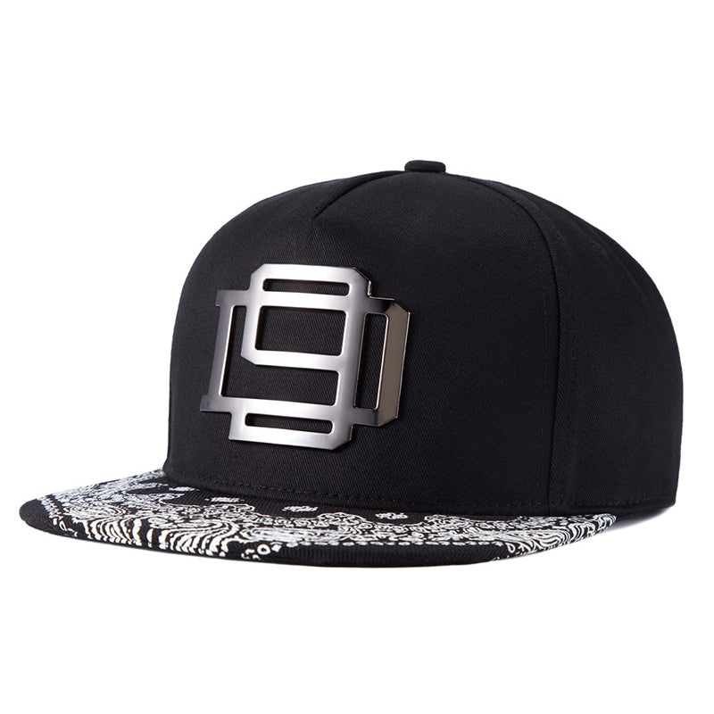 [NORTHWOOD] 2017 New Gorras Planas Hip Hop Cap Snapback Hip Hop Hat Men Cappelli Hip-Hop Metal Swag Mens Snapbacks - Zamavi.com
