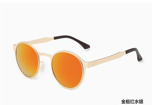 DANKEYISI Round Polarized Sunglasses Men Luxury Sunglasses Women Brand Designer Polaroid Vintage Sunglasses Retro Sun Glass - Zamavi.com