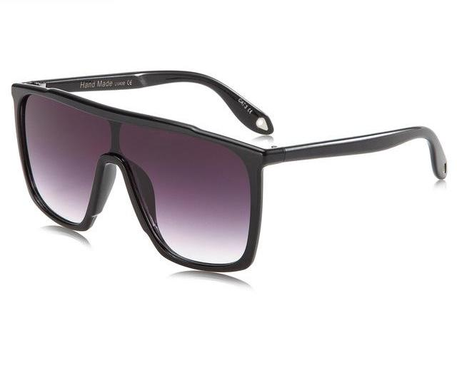 TRIUMPH VISION Male Flat Top Sunglasses Men Brand Black Square Shades UV400 Gradient Sun Glasses For Men Cool One Piece Designer - Zamavi.com