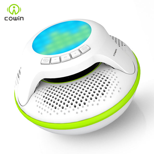Cowin Swimmer 10W IPX7 Waterproof Bluetooth Speaker Wireless Portable Shower Subwoofer Stereo Mini Light LED Speakers For Phone - Zamavi.com