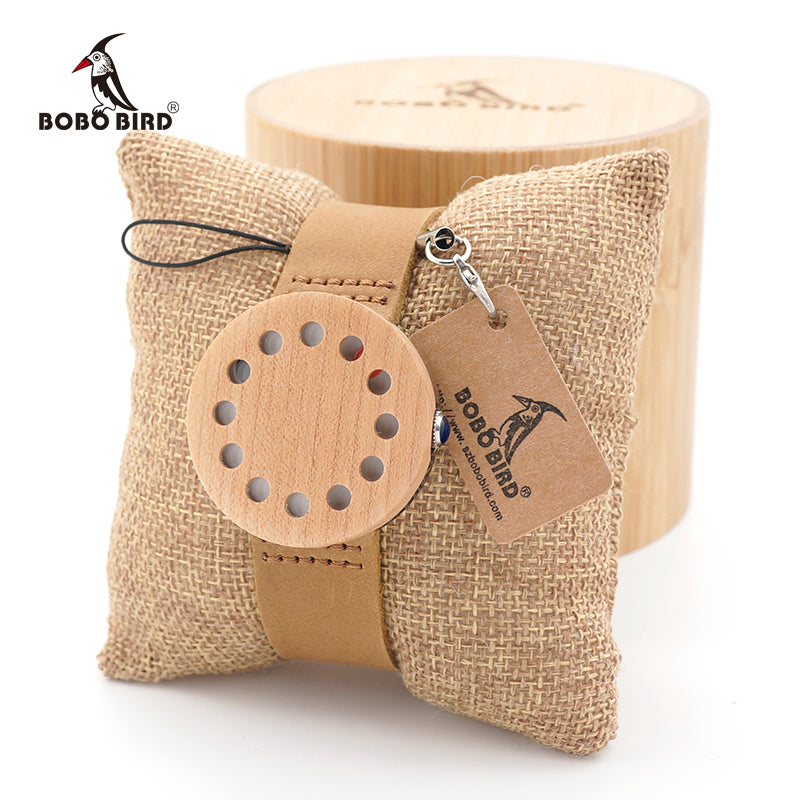 BOBO BIRD Mens 12 Holes Design Unique Wood Watches Top Brand Design Elegant Wooden WristWatches watches men luxury brand