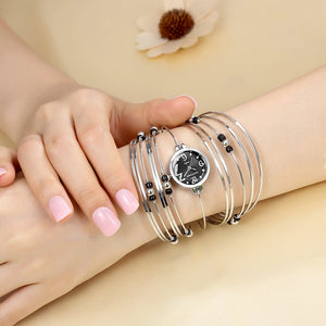 GEEKTHINK Bohemian Style Luxury Brand Quartz Watch Women Bracelet Ladies Casual Dress Steel band Clock Female Girls Trending - Zamavi.com