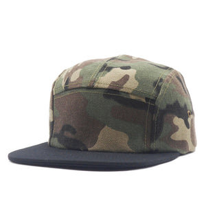 5 Panel Cap Camo Snapback Hats Snapbacks Straight Flap Baseball Cap Outdoor Brand Army Camouflage Hat 2017 Men Women Hip Hop Cap - Zamavi.com