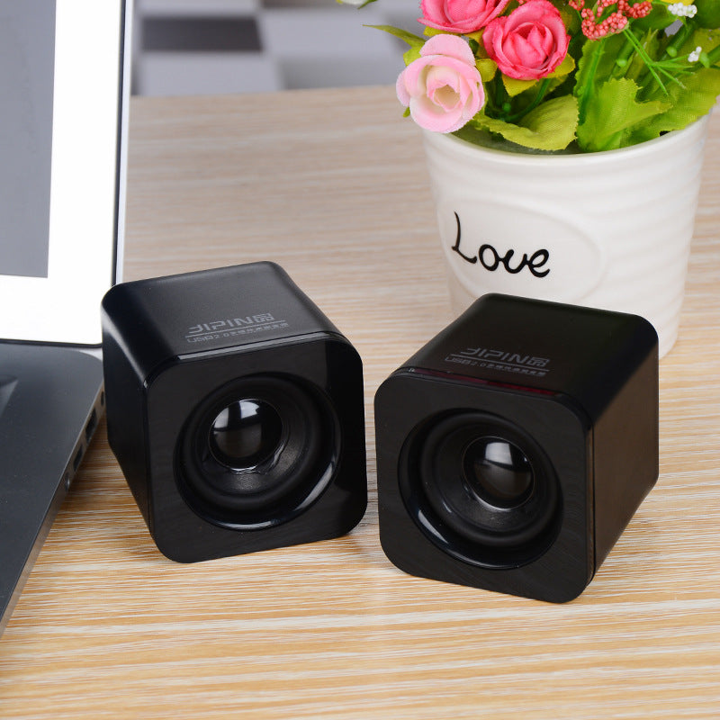 YMDX Good quality HD speaker notebook portable USB2.0 multimedia speaker Mini desktop computer small speaker sound subwoofer - Zamavi.com