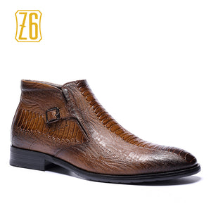 39-48 brand men boots Z6 Top quality handsome comfortable Retro leather martin boots #R5286-3 - Zamavi.com