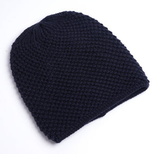Charles Perra NEW 2018 Men Knitted Hats Winter Double Layer Thicken Wool Hat Fashion Casual Male Skullies Beanies 3313 - Zamavi.com