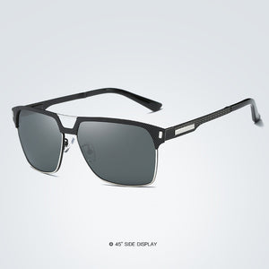 BARCUR Black High Quality HD Polarized Sunglasses Men Driving Sun Glasses for Man Shades Eyewear With Box - Zamavi.com