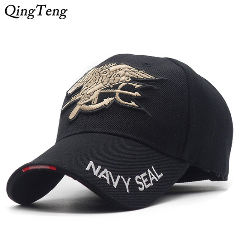 Mens US NAVY Team Tactical Baseball Cap Navy Seals Caps Brand Gorras Cotton Adjustable Bone Snapback Hat - Zamavi.com