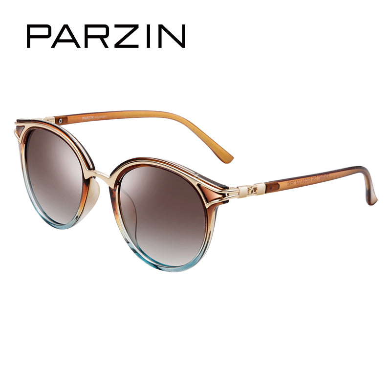 PARZIN Retro Round Women Sunglasses Fashion Sun glasses Elegant Ladies Spectacles Polarized Glasses gafas de sol 9867 - Zamavi.com