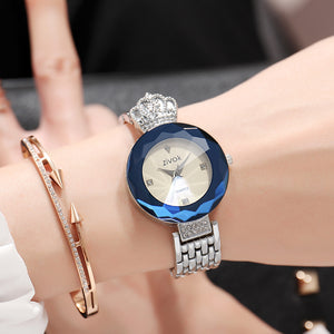 Top Brand zivok Luxury Women Watches Relogio Feminino Silver Fashion Quartz Lovers Wrist Watch Clock Women Bracelet Wristwatches - Zamavi.com