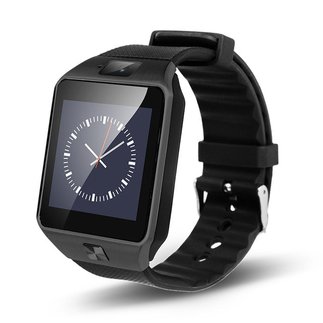 bluetooth android smart watch dz09 with Camera support SIM TF sport men women wristwatch For ios android Phones - Zamavi.com