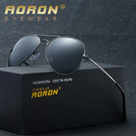 AORON Pilot Sunglasses Men Polarized Male Sun Glasses For Women Driving Sunglasses Driver Famous Luxury Brand Oculos Lunette