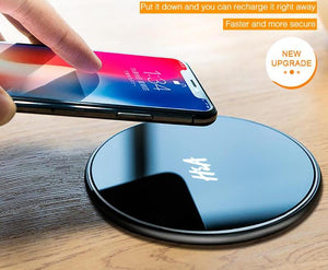 Wireless Charger For iPhone X, 8 Plus, Samsung Galaxy Note 8, S9, S8, S7, S6. - Zamavi.com