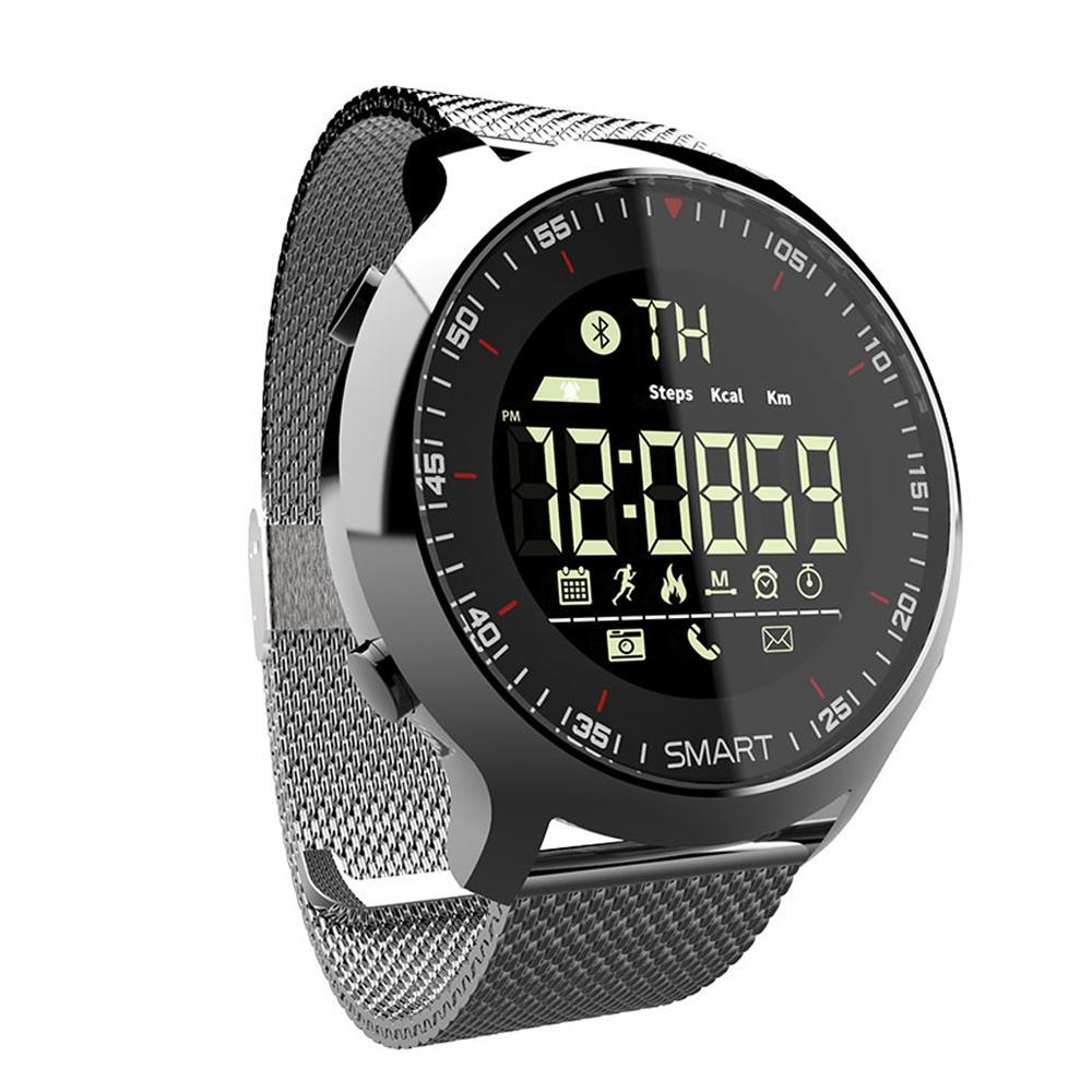 LOKMAT Smart Watch Wearable Devices Waterproof Wrist Support Call And SMS Alert Bluetooth Sport Watches IP67 SmartWatch - Zamavi.com