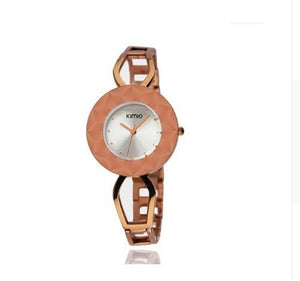 KIMIO Fine Big Dial Multi-faceted Women's Bracelet Watch 2018 Fashion Luxury Ladies Dress Wristwatch relogio masculino &Gift BOX - Zamavi.com