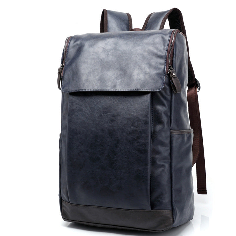 MAIWEINI Men's Travel Bag Man Backpack PU leather Bags Shoulder Bags Computer school Packsack Free Shipping