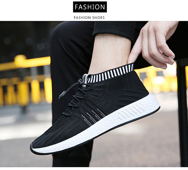 Hot Men's Running Shoes High Quality Sneakers Sport Shoes for Male Walking Shoes Comfortable Lace Up Training Mesh Athletic - Zamavi.com
