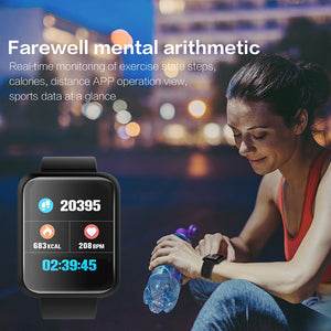 LEMFO Professional Sport Fitness Bracelet Healthy Smart Band Blood Pressure Heart Rate Monitor Watch 15 days Standby For Men & women - Zamavi.com