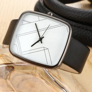 Fashion Brand Women Quartz Watches Fashion square Leather strap Ladies Bracelet Wrist Watch Student Girl Birthday Gift - Zamavi.com