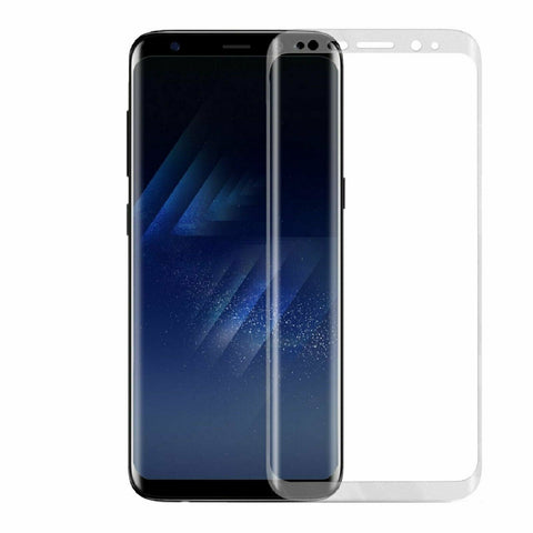 For Galaxy S10 S9 S8 Plus Note 8 9 10 Full Cover Tempered Glass Screen Protector