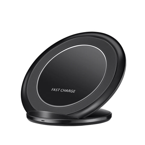 Qi Wireless Fast Charger Charging Pad Stand Dock for Samsung Galaxy Note 8 S8 S7 - Rewardeals
