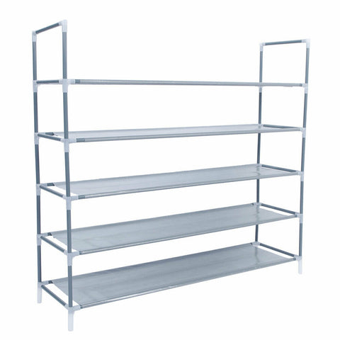 5 Tier 25 Pairs Shoe Rack Organizer - Rewardeals