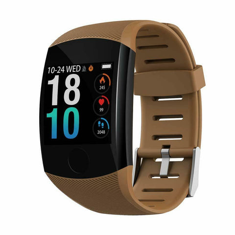 Latest Smart Watch Fitness Tracker Blood Pressure Heart Rate for iPhone Samsung