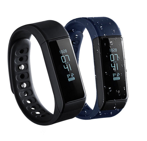 LAGGRA Bluetooth Health Pedometer Sleep Monitor Fitness Tracker Smart Wristband - Rewardeals