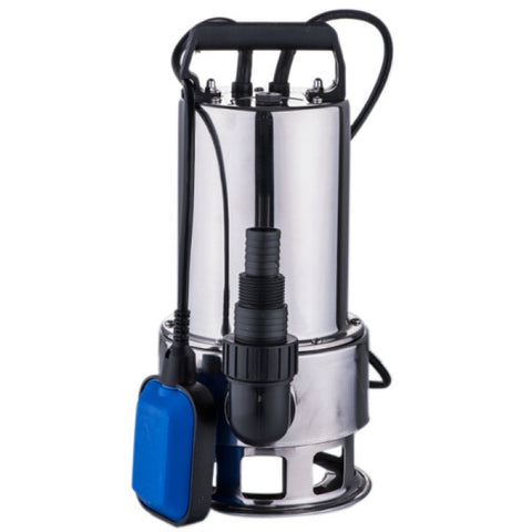 1.5HP Submersible Stainless Steel Clear Dirty Pool Pond Drain Water Pump - Rewardeals
