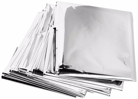 Emergency Survival Safety Insulating Solar Thermal Blankets (Pack of 10) - Rewardeals