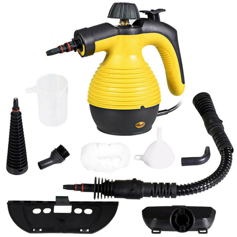 LAGGRA 1050W Portable Steam Cleaner Handheld Steamer for Household Car