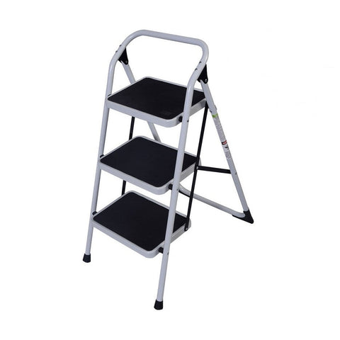 Multi-Purpose Foldable 3 Step Lightweight Ladder 330 LB - Rewardeals