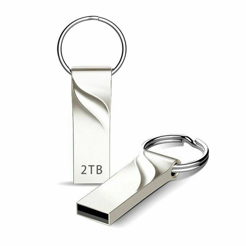 2TB Flash Drive USB 3.0 Memory Stick Pendrive Disk Metal Key Thumb for PC Laptop - Rewardeals