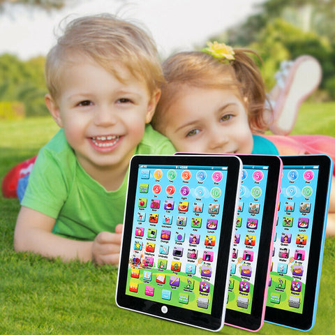 Baby Kids Laptop Tablet Pad Computer Child Educational Game Learning Toy - Rewardeals