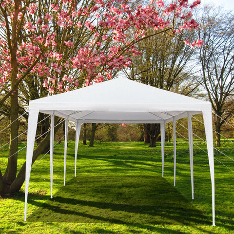 10'x30' Upgrade Party Wedding Canopy Tent Gazebo Pavilion with 8 Walls - Rewardeals