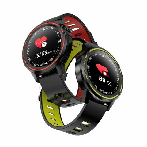 LR438 Smart Watch Bluetooth Heart Rate Monitor Fitness for Android iOS